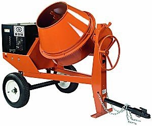 MBW Cement Mixer- Gas 9 cu ft