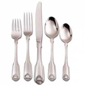 Shell Pattern Silverware