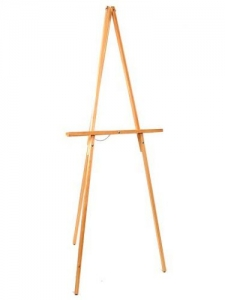 RSS Distributor Easel, Wooden Tripod