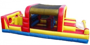 Spaewalk Inflatable Mini Obstacle Course, 32'