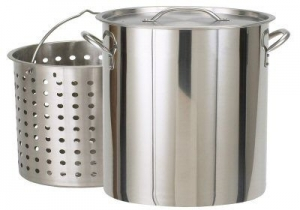 Aluminum Stock Pot, 40 Qt
