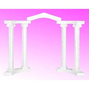 COLONNADE GROUP, 9-PIECE, 8' SCAMOZZI COLUMNS, WHITE