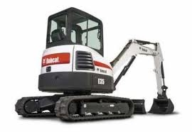 MINI EXCAVATOR E35 (DIESEL ON TRACKS)