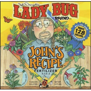 Lady Bug Brand John's Recipe™ Liquid Fertilizer 3-1.5-2