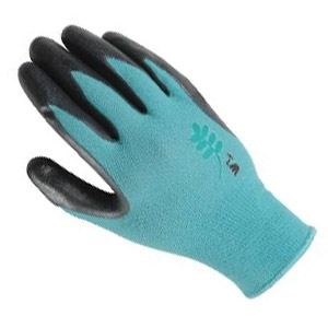 Ladies Nitrile Coated Knit Gardening Glove