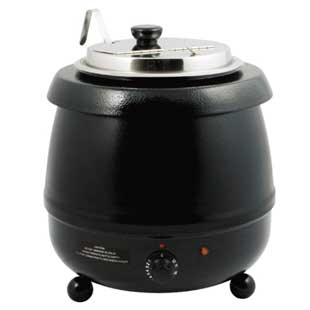ELECTRIC SOUP WARMER 10.5 QT.