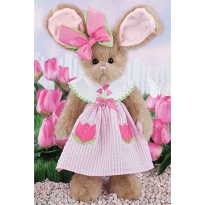 Bearington Collection 'Taylor Tulips' Bunny