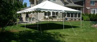 CANOPY TENT, 20X20, WHITE