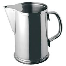 Stainless Pitcher, 2 Qt.