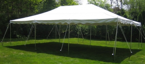 20 x 30 DIY Canopy Tent & Tents/Canopies | United Party Rental of Lawrence MA - Lawrence MA