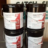 Cold process roofing adhesive