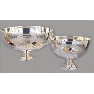Punch bowl,  Silver Plate, 3 Gallon