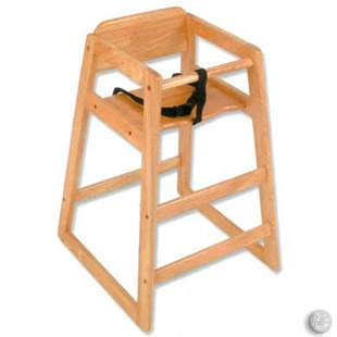 WOODEN HIGH CHAIRS
