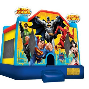 Justice League Jump House