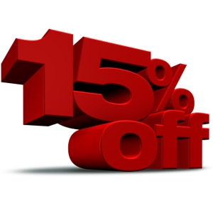 15% OFF 2019 Reservations!