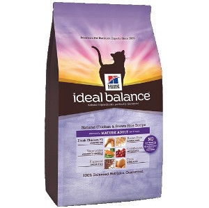 Ideal Balance Natural Chicken & Brown Rice Mature Adult- Cat
