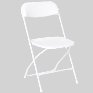 PRE White Plastic Dining Chair