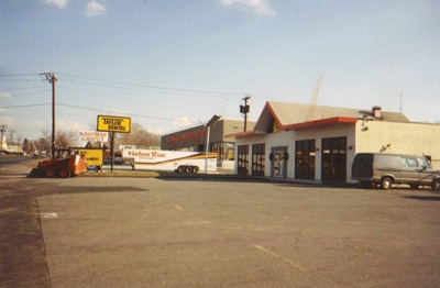 Facade of Our Orange Location circa 1989