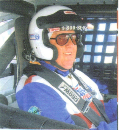 Gene Lagasse Driving at Daytona International Speedway1