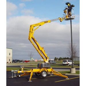 Biljax Towable Aerial  Lift