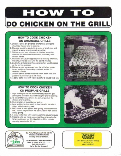 How to Cook Chicken on a Charcoal Grill