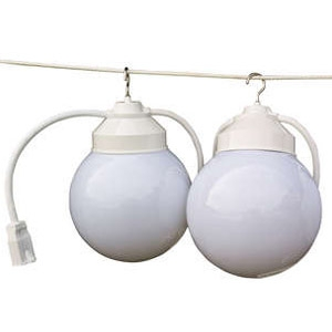 String Globe Tent Lights