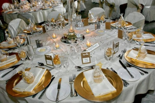 Gold Charger Plate & Gold Charger Plate | United Party Rental of Lawrence MA - Lawrence MA