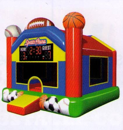 Bounce House, Sports Arena
