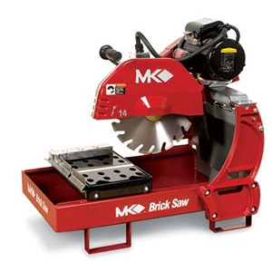 MK Diamond Products 2000 Gas Series Brick Saw