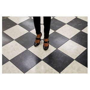 Dancefloor, Marble Black & White