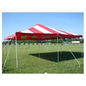 Tent / Canopy 20x20 Red/White or Yellow/White