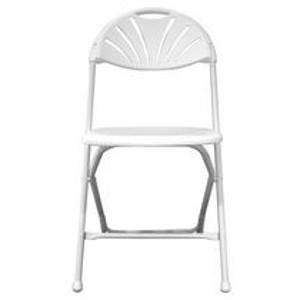 Chair, Wedding White Fanback