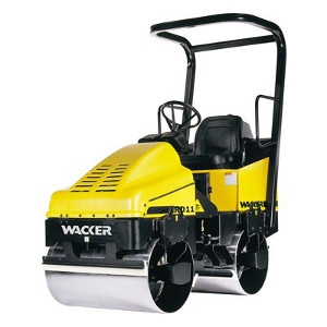Wacker Neuson RD11A Vibrating Riding Roller