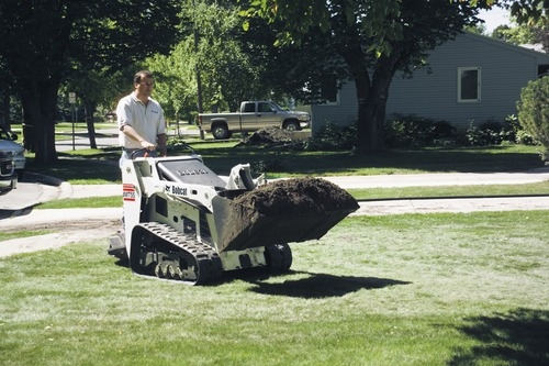 Bobcat walk behind Skid Steer