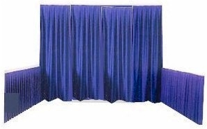 Pipe and Drape Back Drop or Booth