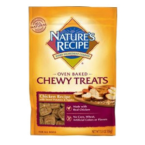 Nature's Recipe® Oven Baked Chewy Treats Chicken Recipe 5.5oz