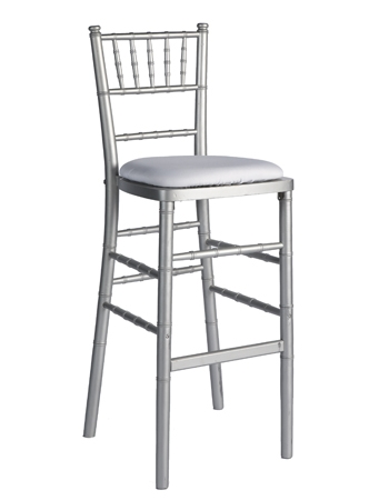 Bar Stool Chiavari Silver