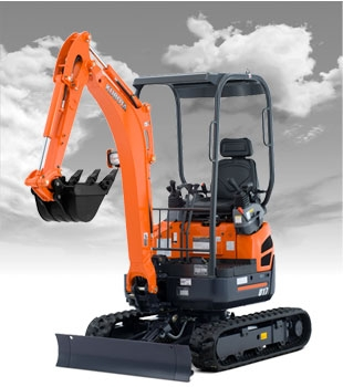Mini Excavator 7' Depth