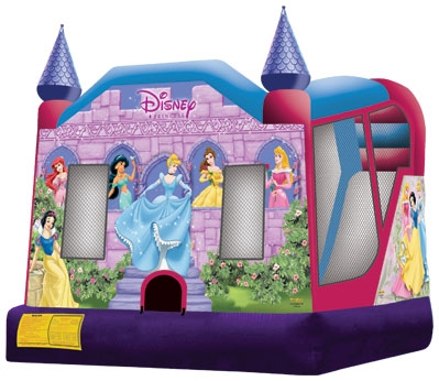 Bounce House Disney Princess