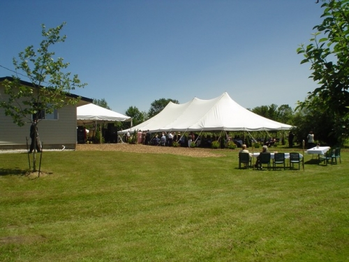 40' x 80' w/ 20' x 20' Bar Tent - Mermaid
