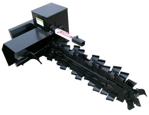 Larson Equipment Trencher Attachment for Mini Loader