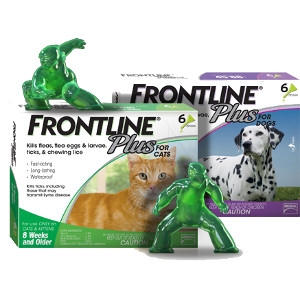 Frontline® Plus for Dogs and Cats