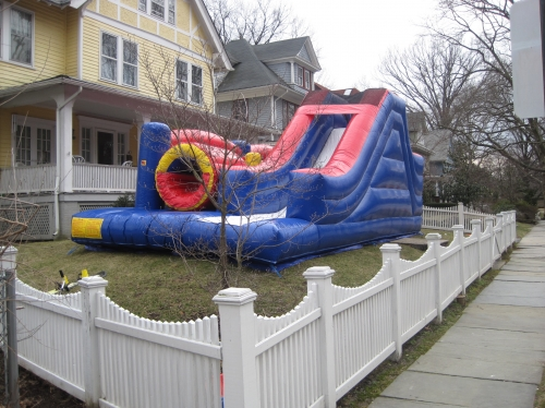 INFLATABLE OBSTACLE COURSE COMBO