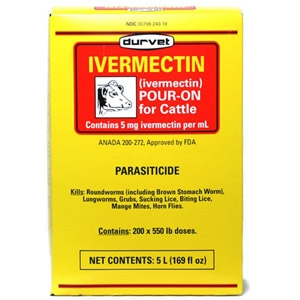 Ivermectin Pour-On Cattle Wormer