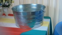 Galvanized Round Tub