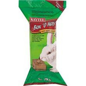 KAYTEE® Box 'O Hay with Apple Sticks