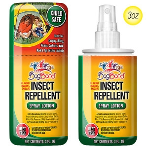 BugBand Inc. Insect Repellent Spray Lotion