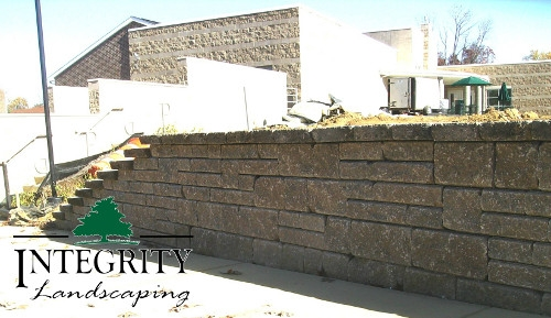 Retaining Wall for Commercial Business