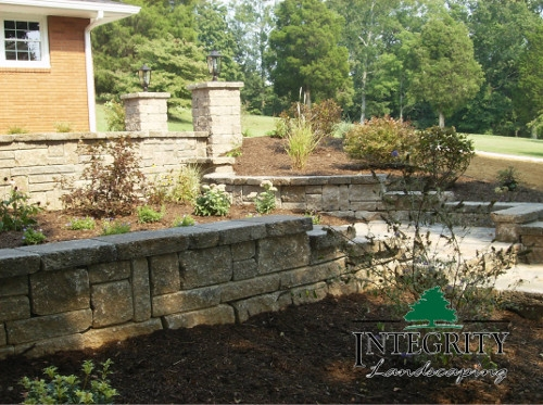 Retaining Walls for Raised Landscape Beds