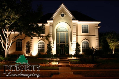 Landscape Lighting Showcases your Home at Night